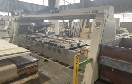 Specialised facilities for the fabrication and complete customisation of building products