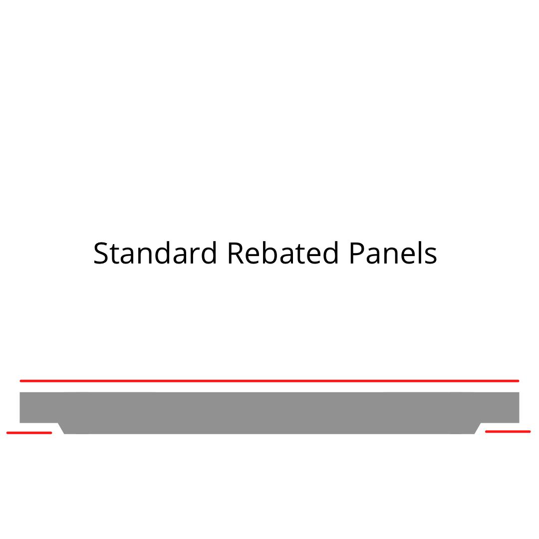 Standard Rebatted Panels