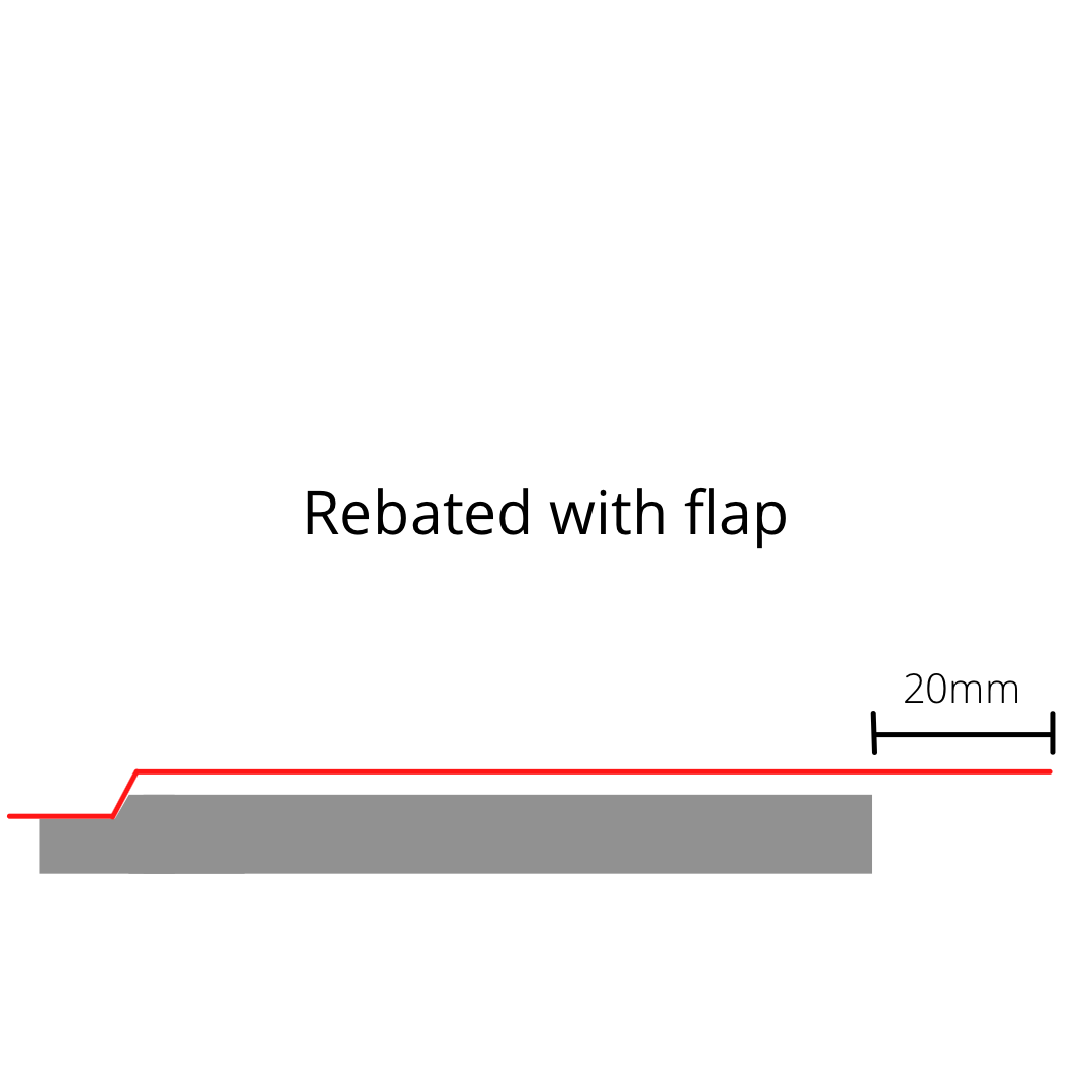Rebated With Flap