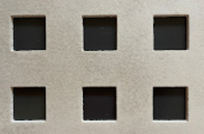 Perforated Panel Image